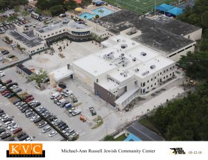 KVC Michael-Ann Russell Jewish Community Center aerial photo
