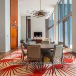 Carpeted Dining Room