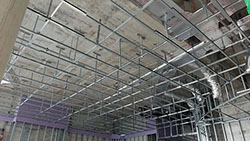 A Photo of the Ritz Carlton Framed Metal Rafters
