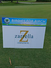 Zarrella Charity event Birdies for Birch
