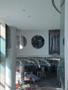 Interior Construction of The Ritz View From Above